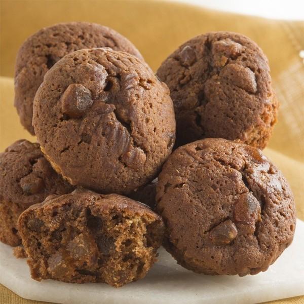 Mini Cakes au Chocolat et aux Poires - 200 g