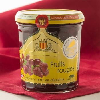 Confiture aux Fruits Rouges - 340 g