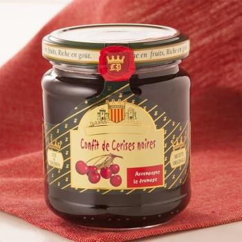 Confit de Cerises Noires - 250 g