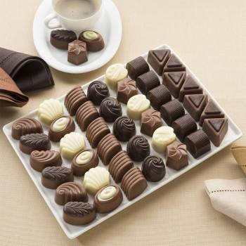 Grand Assortiment de Chocolats Belges - 1 KG