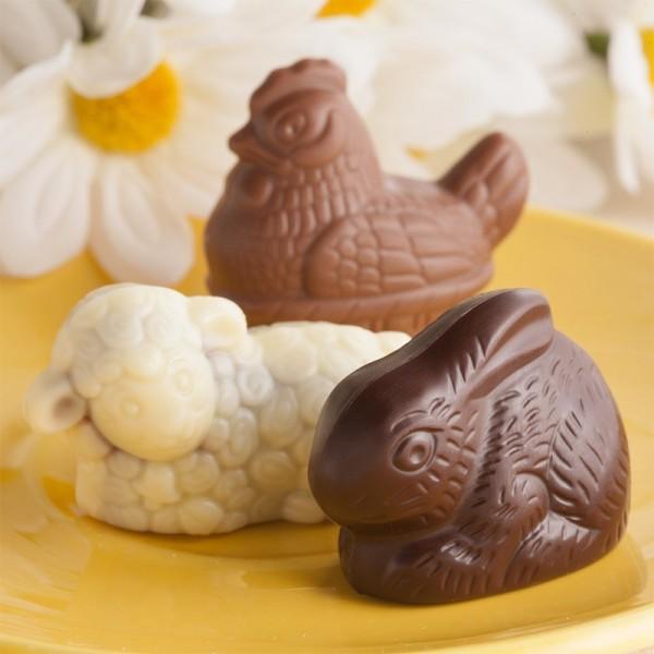 Animaux de Pâques Pralinés - 250 g