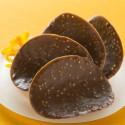 Fines Tuiles au Chocolat et à l'Orange - 125 g