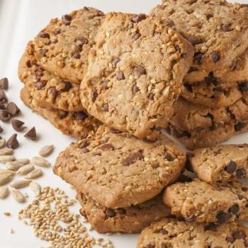 Sablés aux Chocolat et Graines Bio - 140 g