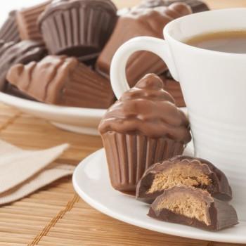 Chocolats Pralinés en Forme de Cupcakes - 96 g