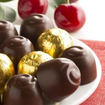 Cerises au Chocolat et à l'Alcool - 132 g