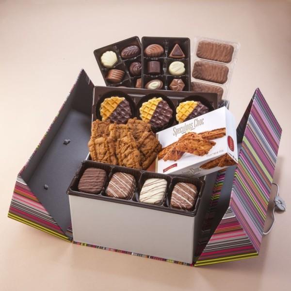 Panier de Spécialité au Chocolat Belge - 725g