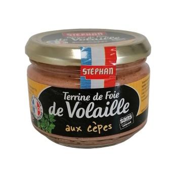 Terrine de Foie de Volaille aux Cèpes - Conserverie Stéphan