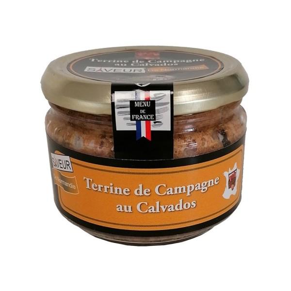 "Terrine de Campagne au Calvados ""Menu de France"" - Conserverie Stéphan"
