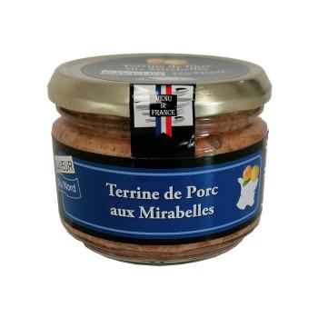 """Terrine de Porc aux Mirabelles """"Menu de France"""" - Conserverie Stéphan"""