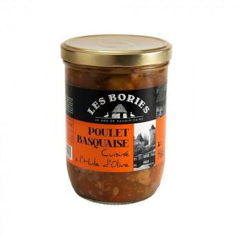 Poulet Basquaise à l'huile d'olive - CCA du Périgord