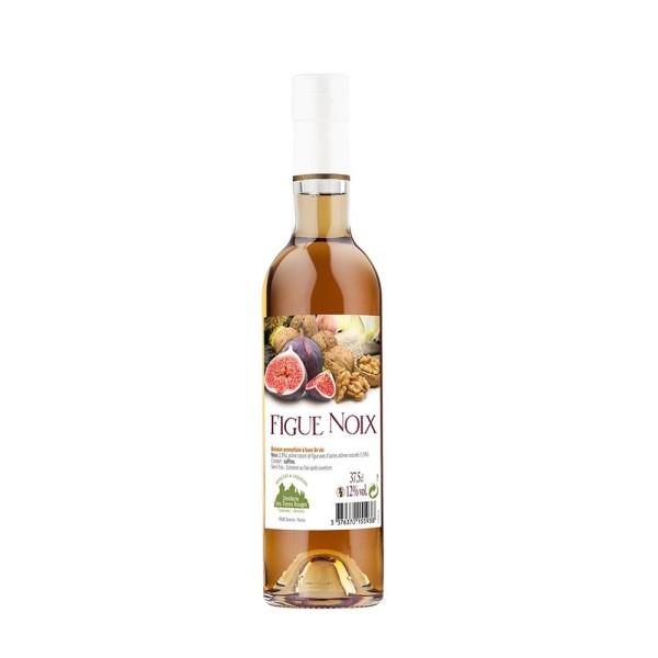 Vin apéritif figue noix
