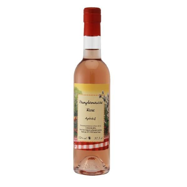 Vin apéritif pamplemousse rose