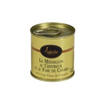 Médaillon au Chevreuil et au Foie de Canard