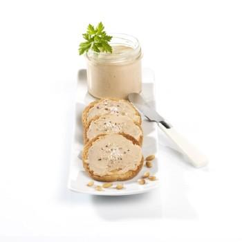 Délice de bloc de foie gras canard et de morilles