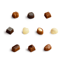 Boite cadeau de Chocolats Belges - 125 g