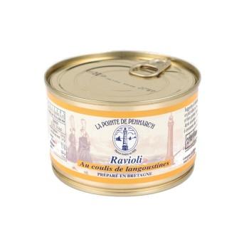 Raviolis de Thon au Coulis de Langoustines