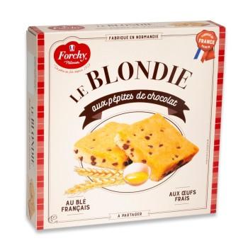 Blondie aux Pépites de Chocolat