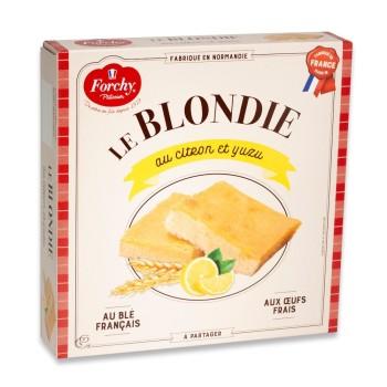 Blondie au citron et yuzu