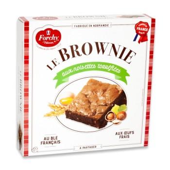 Brownie aux noisettes torréfiées