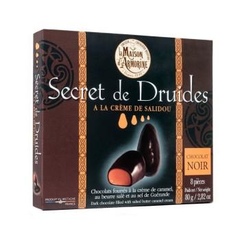 Chocolats noirs à la crème de caramel