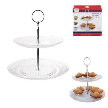 Serviteur Gâteaux 2 Plateaux