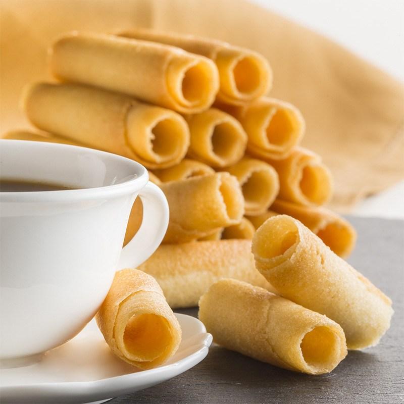 cigarettes russes biscuit pour café