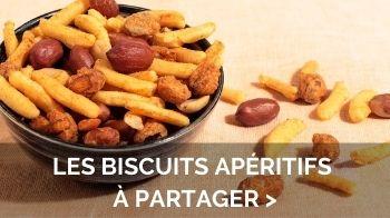 biscuits aperitifs apero